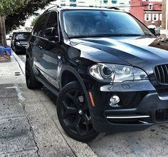 Black BMW X5. My next Vehicle.