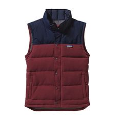 Patagonia Men\'s Bivy Down Vest - Oxblood Red OXRD