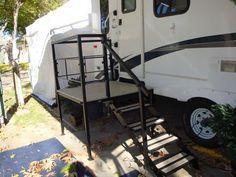 Our Photo Gallery : Portable Decks : RV Platform Step : Sunrise Products, Inc.