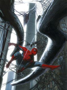 #Spiderman #Fan #Art. (Spider-Man: Web of Shadows) By: Gabriele Dell Otto. (THE * 5 * STÅR * ÅWARD * OF: * AW YEAH, IT'S MAJOR ÅWESOMENESS!!!™)[THANK Ü 4 PINNING!!!<·><]<©>ÅÅÅ+(OB4E)