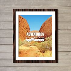 Adventures are Calling -8x10- Adventures Rocks Hiking Wanderlust Travel Instant Download Digital Printable Poster Print Home Decor Wall Art on Etsy, $5.08