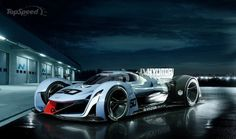 Hyundai N 2025 Vision Gran Turismo - Fuel Cell Electric/Super Capacitor drive
