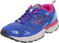 The North Face Double-Track Trail Running Shoe - Women's Vibrant Blue/Razzle Pink, 7.5 The North Face. $95.96