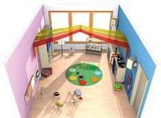 Bauraum Spielen / Bauen Raumkonzepte Kinder unter 3