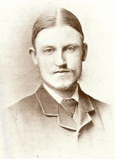 George Bernard Shaw (born on 26 July 1856), July 1879. Petkenro, via Flickr