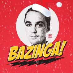 Big Bang Theory the best christmas card! Lol