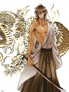 Touken Ranbu, Ookurikara, Dragon