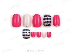 15 Matching nails and toes nail art designs.