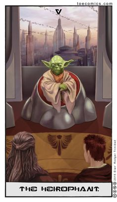Star Wars Tarot: The Hierophant by theory-of-everything on DeviantArt