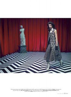 Elle magazine Twin Peaks photo shoot