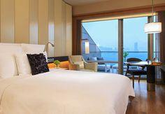 Hong Kong hotel with balcony
