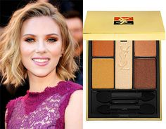 Fall may be over, but ScarJo's orange lid is a new and fun twist on the classic smokey eye!