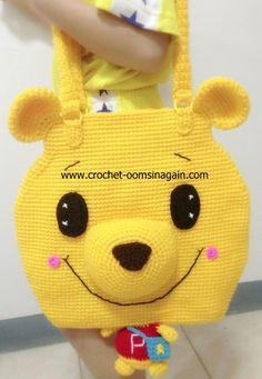 Pat Phase Bag Big Pooh - www.crochet-oomsinagain.com: Inspired by LnwShop.com.