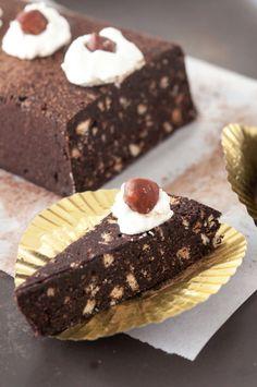 Gianduitto (chocolate-hazelnut ice box cake)