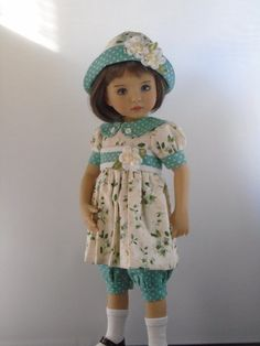 Handmade outfit for the Little Darlings.