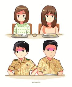 Descendants of the Sun Fan Art by yanihee (Instagram)