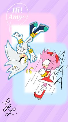 Silver The Hedgehog, Sonic The Hedgehog, Z Wallpaper, Sonic Fan Art, Amy Rose, Rainbow, Drawings, Fictional Characters, Prince