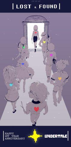 Undertale fanart - Souls of the Fallen Children, Undertale Souls, Undertale Cute, Undertale Fanart, Undertale Comic, Frisk, Chara, Anime Plus, Animé Fan Art, Anime Pictures