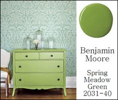 green painted furniture | love this color of green , it has the perfect name to describe it ...