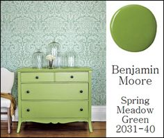 Spring Meadow Green paint
