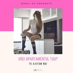 O mare parte dintre modelele care au sa isi investeasca toti banii castigati in achizitionarea unui apartament!  Si tu poti avea propria ta casa! Trebuie doar sa alegi sa colaborezi cu noi si te ajutam sa faci banii de care ai nevoie!  Suna-ne la 📞📲𝟎𝟕𝟓𝟖 𝟗𝟖𝟖 𝟗𝟗𝟗 sau lasa-ne un mesaj pe Whatsapp si te sunam noi 💻⌨ www.okstudio.ro High Socks, Fitbit, Studio, Model, Fashion, Moda, La Mode
