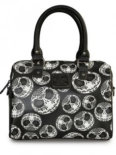 """Sugar Skull Jack"" Mini City Crossbody Bag"