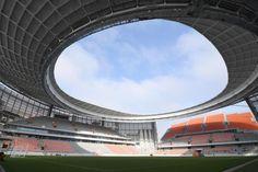 The Ekaterinburg Stadium has been recently renovated