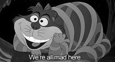 "I adore ""Alice in Wonderland"""