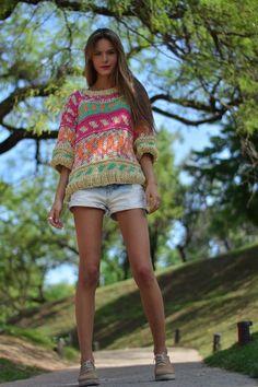 Cardigan Pattern, Crochet Cardigan, Crochet Yarn, Knit Crochet, Knitting Designs, Knitting Patterns, Knitwear Fashion, How To Purl Knit, Crochet Fashion