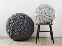 Knot your average floor cushion...