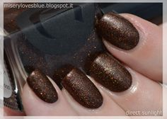Rainbow Ladies 2.0: Brown http://miserylovesblue.blogspot.it/2014/04/rainbow-ladies-20-cirque-french-roast.html