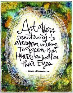 Beholding beauty heals the heart <3