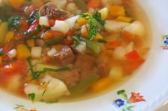 Food And Drink, Soup, Chicken, Ethnic Recipes, Restaurant, Cooking, Recipe, Soups, Restaurants