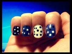 blue,white,black