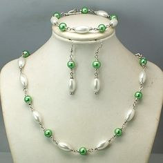 Glass Pearl Jewelry Sets: Earrings, Bracelets & Necklaces from Pandahall.com