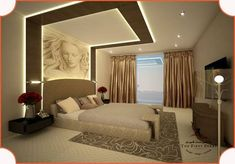 False Ceiling Design For Living Room And Bedroom . 10 Best Pooja Room False Ceiling Designs With Pictures . Home and Family Down Ceiling Design, House Ceiling Design, Ceiling Design Living Room, False Ceiling Bedroom, Bedroom False Ceiling Design, Bedroom Wall, Bedroom Pop Design, Luxury Bedroom Design, Bedroom Furniture Design
