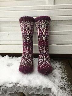 Ravelry: Vinterdrøm sokker pattern by Gro Andersen