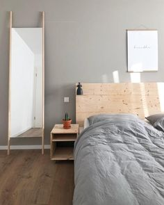 Wir Lieben Dieses #DIY Betthaupt! #schlafzimmer #bett #ikea #ikeamalmbett