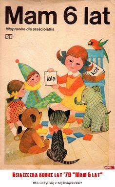 "Książeczka koniec lat '70 ""Mam 6 lat"""