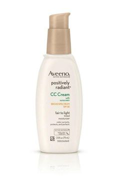 Aveeno Positively Radiant CC Cream SPF 30 Medium Ounce Tube *** Check out the image by visiting the link. (This is an affiliate link) Rosacea Makeup, Best Makeup For Rosacea, Skin Makeup, Moisturizer With Spf, Make Up Primer, Best Spf, Make Up, Beauty Tricks, Skin Care
