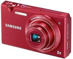 Samsung Multiview MV800 16.1MP Digital Camera with 5x Optical Zoom (Red)