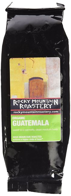 Organic Guatemala Whole Bean Fresh Roasted Coffee 1lb Bag * Find out more details @ : Fresh Groceries