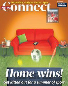 Magazine Editorial, Magazines, Cover, Illustration, Home Decor, Journals, Room Decor, Illustrations, Blankets