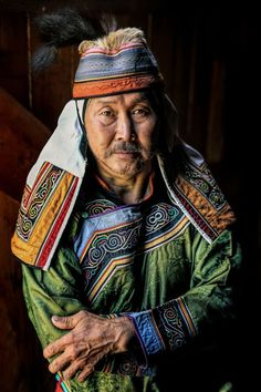I Travelled Km Across Siberia To Photograph Its Indigenous People. Old Man Pictures, Siberia, Inspiration Art, Tribal People, Face Photography, Cultural Diversity, Folk Costume, Man Photo, Bored Panda