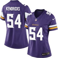 7f0b29ecef4 Nike Limited Eric Kendricks Purple Womens Jersey - Minnesota Vikings 54 NFL  Home ...