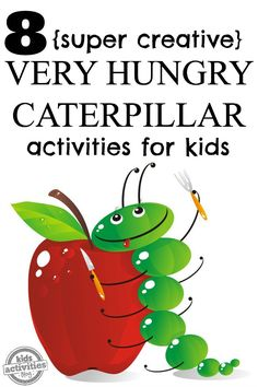 These Very Hungry Caterpillar Activities for kids will continue the learning beyond the beloved Eric Carle book. Continue the colorful learning fun!
