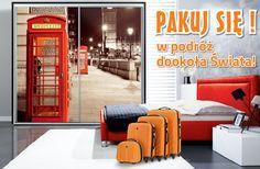 Londyn, Wenecja, Nowy Jork to jedne z wielu grafik na frontach naszych szaf, które rozbudzą Twoje marzenia o podróżowaniu. Jeżeli chcesz zachować wspomnienia z wakacji lub masz odważną osobowość, grafika na szafie będzie świetnym oddaniem Twoich emocji.