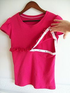 Running With Scissors: Fashionable T-Shirt for Moms