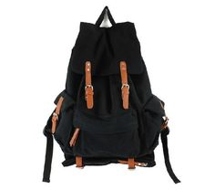Rucksack Backpacks - Pin it :-) Follow Us :-)) zCamping.com is your Camping Product Gallery ;) CLICK IMAGE TWICE for Pricing and Info :) SEE A LARGER SELECTION of rucksack backpacks  at http://zcamping.com/category/camping-categories/camping-backpacks/rucksack-backpacks/ -  hunting, bags,camping, backpacks, camping gear, camp supplies -   YiTao Deal S.C. Cotton Vintage Canvas Leather Hiking Travel Military Backpack Messenger Tote Bag Video Portable Carry Case for Sony Canon Ni...