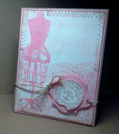 HYCCT1114-Floral Dress Form by It's Ree - Cards and Paper Crafts at Splitcoaststampers